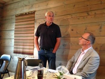 Einar Holsvik framheva kor viktig eldsjelar og dugnad er i slike prosjekt som Lyngheim